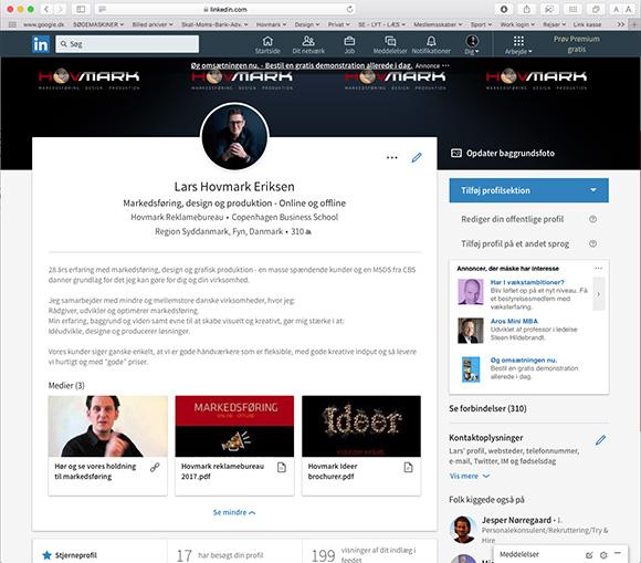 LinkedIn – præsenterer din profil optimalt…
