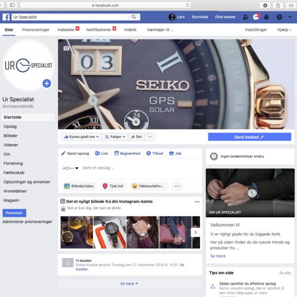 Ur Specialist – Facebook/Instagram