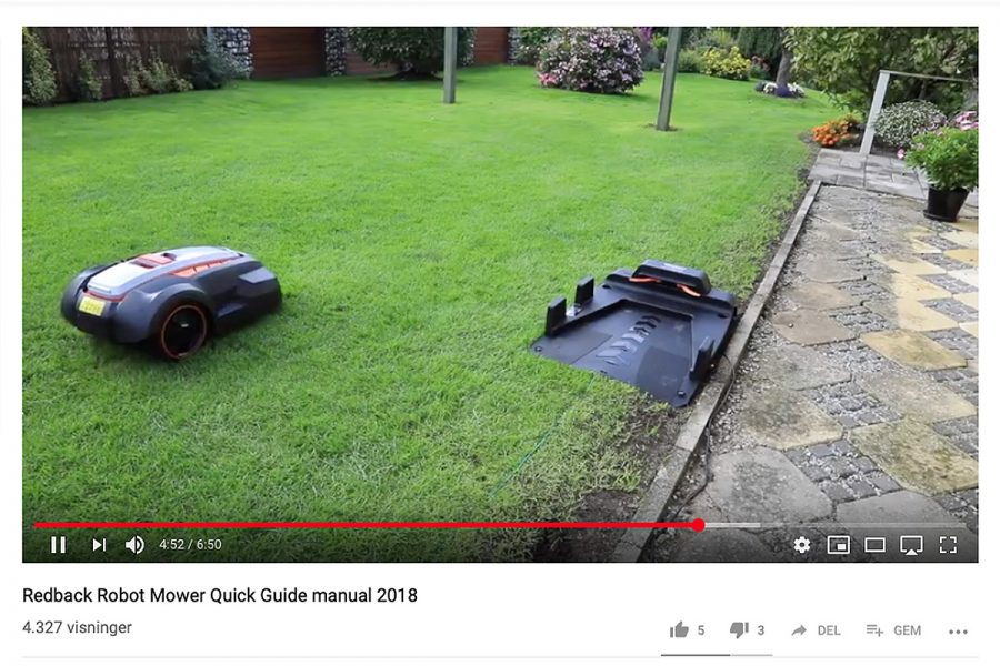 Redback Garden Products – Youtube